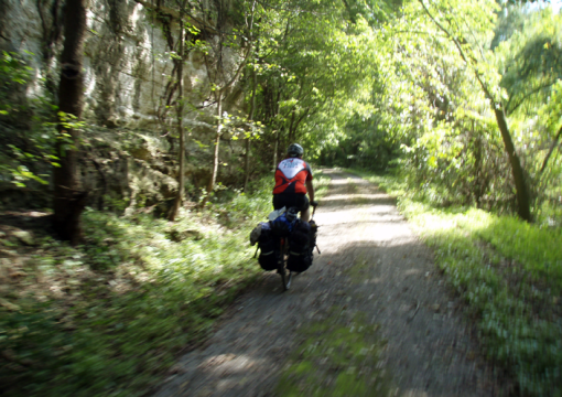 Katy Trail, Bike Camping, Missouri
