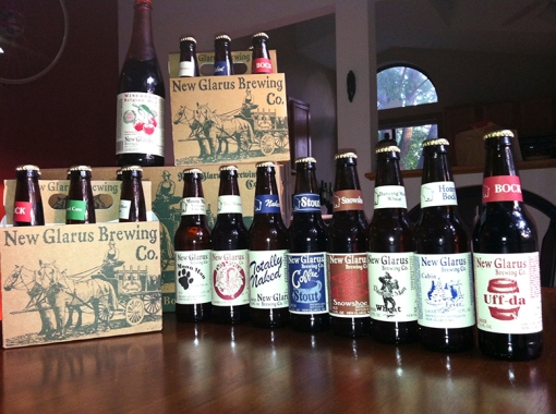 New Glarus Brewery beer